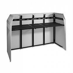Vonyx DB5 Pro DJ Booth, zložiteľná, hliník, do 80kg, poťah-lycra, prenosná taška