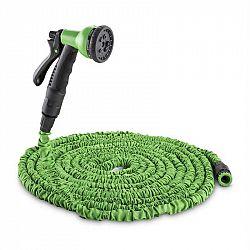 Waldbeck Water Wizard 22, flexibilná záhradná hadica, 8 funkcií, 22.5 m, zelená